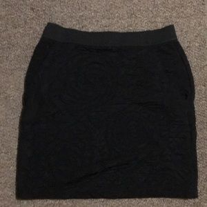 silence + noise Black Skirt XS Urban Outfitters